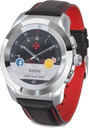 Smartwatch MyKronoz Czarno-czerwony  (KRZT1RP-PSL-BKCAR)