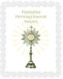 Olesiejuk Pamiątka Pierwszej Komunii Świętej (monstrancja)