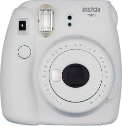 Aparat cyfrowy Fujifilm Instax mini 9 Biały + 10 wkładów + etui