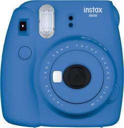Aparat cyfrowy Fujifilm Instax mini 9 Ciemnoniebieski + 10 wkładów + etui