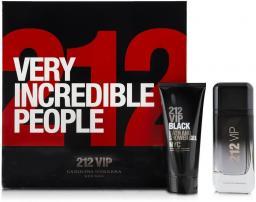 Carolina Herrera 212 VIP Men Black Zestaw dla mężczyzn