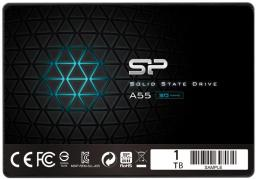 Dysk SSD Silicon Power Silicon Power A55 1 TB 2.5'' SATA III (SP001TBSS3A55S25)
