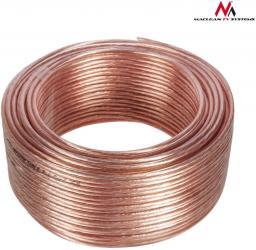 Przewód Maclean Kabel głośnikowy 25m 2*1.5mm2 / 48*0.20CCA 3,5*7,0mm (MCTV-510)