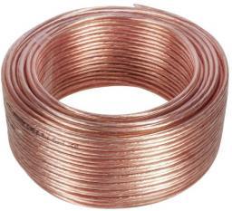 Przewód Maclean Kabel głosnikowy 100m 2*1.5mm2 / 48*0.20CCA 3,5*7,0mm (MCTV-512)