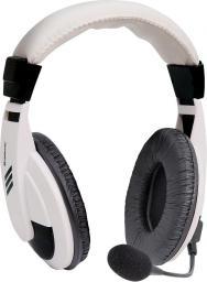 Słuchawki z mikrofonem Defender GRYPHON 750 białe (63747)