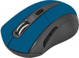 Mysz Defender bezprzewodowa ACCURA optyczna 1600dpi 6P niebieska (MM-965) (52967)