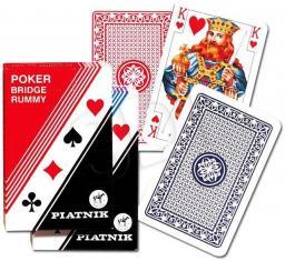 Piatnik Karty 1 talia plastikowe standard