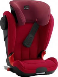 Fotelik samochodowy Britax & Romer KIDFIX XP SICT Kolekcja czarna Flame Red