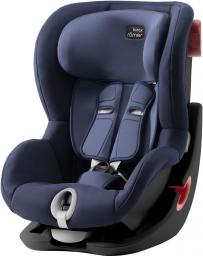 Fotelik samochodowy Britax & Romer Fotelik samochodowy KING II Black Series - Moonlight Blue (9 msc - 4 lata)