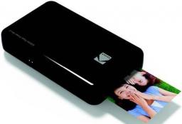 Drukarka fotograficzna Kodak zdjęć do telefonu / smartfona czarna (FOTAOAPAKOD00006)