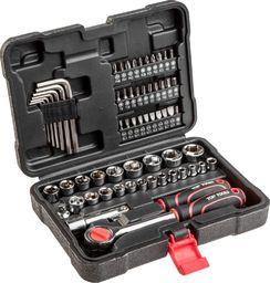 "Top Tools zestaw kluczy nasadowych 3/8"", 63 elementy (38D515)"