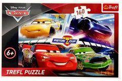 Trefl Puzzle 160 Cars Zwycięski wyścig (15356)
