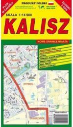 Kalisz 1:14 500 plan miasta