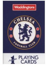 Winning Moves No. 1 Chelsea Playing Cards