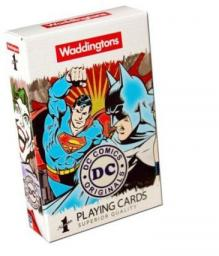 Winning Moves No. 1 DC Retro Playing Cards