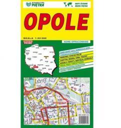 Opole 1:22 000 plan miasta