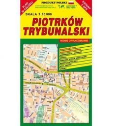Piotrków Trybunalski 1:15 000 plan miasta