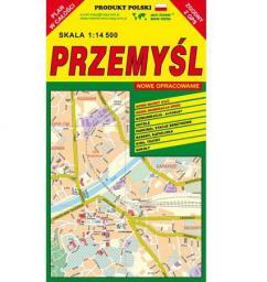 Przemyśl 1:14 500 plan miasta