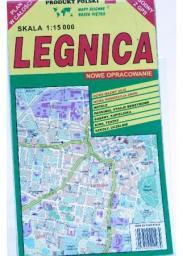 Legnica 1:15 000 plan miasta