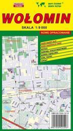 Wołomin - Plan miasta 1:9 000