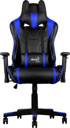 Fotel Aerocool AC220-BB AIR BLACK/BLUE