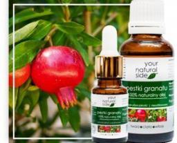 Your Natural Side Olej z pestek granatu nierafinowany Organic 10ml