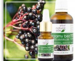 Your Natural Side Olej z Czarnego Bzu nierafinowany 10ml