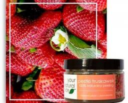 Your Natural Side Peeling z pestek truskawek – drobnoziarnisty 100 ml