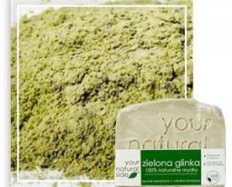 Your Natural Side Mydło naturalne Zielona Glinka 100g
