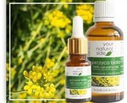 Your Natural Side Olej z gorczycy białej nierafinowany 10ml