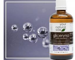 Your Natural Side Gliceryna roślinna 100% naturalna (bez oleju palmowego) 100ml