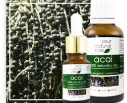 Your Natural Side Olej Acai nierafinowany 10ml