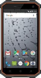 Smartfon Maxcom MS 457 Strong 16 GB Dual SIM Szaro-pomarańczowy  (MAXCOMMS457STRONG)