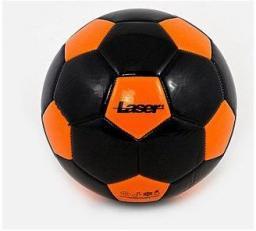 Adar Piłka nożna Laser czarno-pomarańczowa (S/465091)