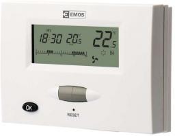 Emos Termostat pokojowy programowalny T13RF 5-30°C (P5613)