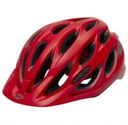 BELL Kask rowerowy  Tracker czerwony r.  54–61 cm (BEL-7082029)