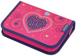 Piórnik Herlitz Piórnik z wyposażeniem Pink Hearts (50014347)