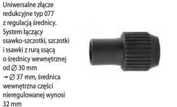 Invest redukcja z regulowaną średnicą 30mm-37mm