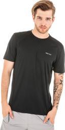 Marmot Koszulka męska Windridge SS czarna r. L