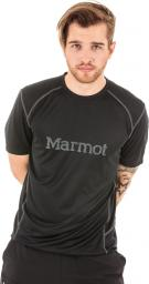 Marmot Koszulka męska Windridge Graphic SS czarna r. L