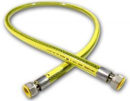 Mora PRZEWÓD GAZOWY oplot PVC F1/2-F1/2 L-1500 z dwiema obrotowymi nakrętkami