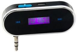 Transmiter FM MonoTech NanoPhone CB31220 czarny (ORG001600)