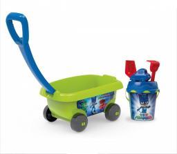 Smoby Wózek z akcesoriami do piasku - Pidżamersi  (7600867006)