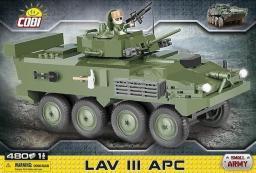 Cobi Klocki - Small Army, Lav III APC Light Armore  (COBI-2609)