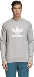 Adidas Bluza męska Originals Trefoil Crew  szara r. M (CY4573)