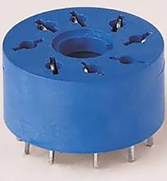 Finder Gniazdo do przekaźników serii 60.12 88.12 do płytki drukowanej średnica 20,5mm (90.14)