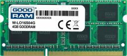 Pamięć do laptopa GoodRam 4GB DDR3 SODIMM (W-LO16S04G)