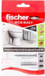 Fischer Zestaw do mocowania muszki WC WCN WHITE (535350)