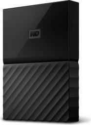 Dysk zewnętrzny Western Digital My Passport for Mac, 2.5'' 4TB USB 3.0 (WDBP6A0040BBK-WESE)
