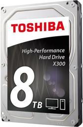 """Dysk Toshiba 8TB 3.5"""" SATA III (HDWF180UZSVA)"""